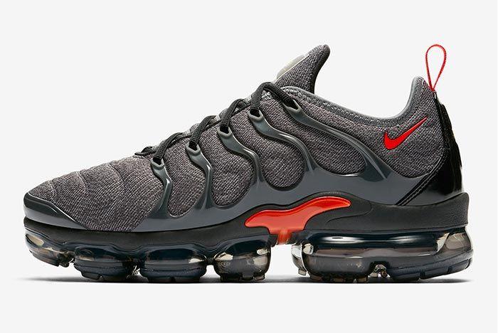 Nike Air Vapormax Plus Red Grey Release 2