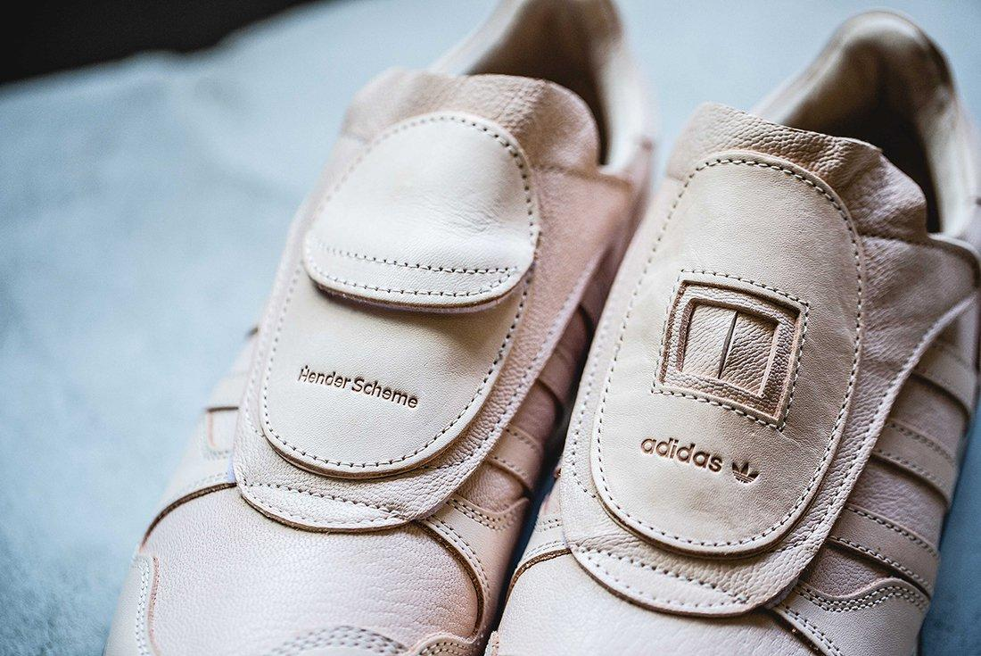 Hender Scheme X Adidas Luxe Leather Pack
