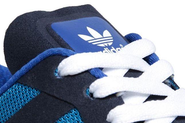 Adidas Zx700 Kazuki Kuraishi Blue Tongue Detail 1