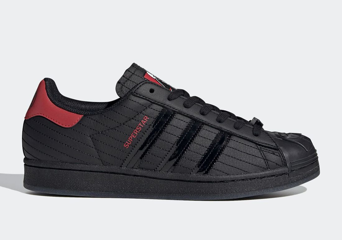 Star Wars adidas Super Star Darth Vader Right