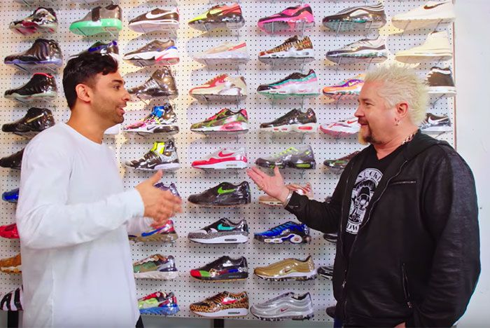 Guy Fieri Joe La Puma Sneaker Shopping