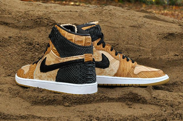 Jbf Customs Nike Air Jordan 1 Desert Storm 5