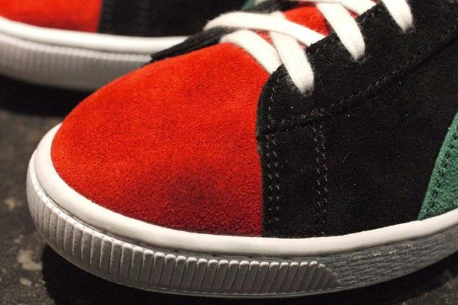 Red Suede Sneaker 1