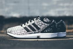 Adidas Zx Flux Weave Grey Black 1