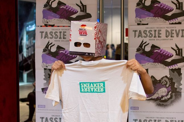 Sneaker Freaker X New Balance 998 Tassie Devil Limited Edt Launch Devil Cray 1
