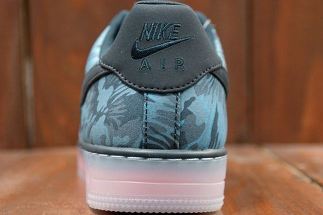 Nike Air Force 1 X Liberty Downtown Blue Heel 1