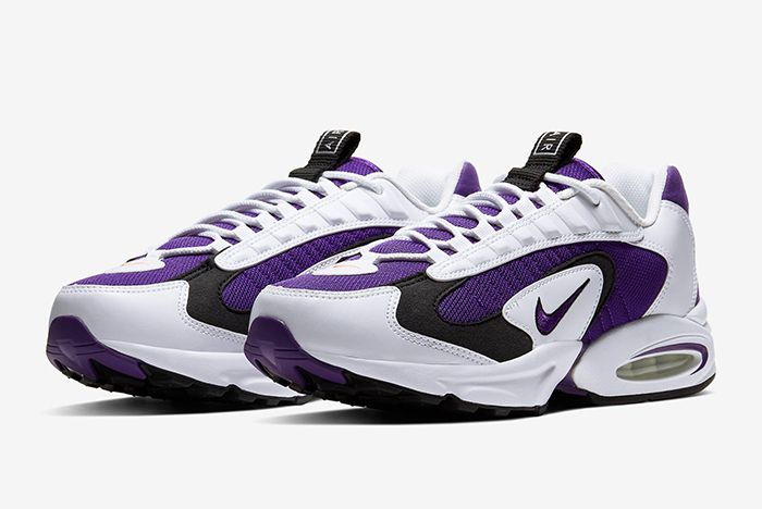 Nike Triax 2 White Purple Quarter