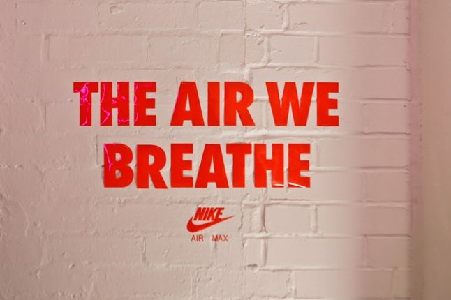 Nike Air Max Anniversary London The Air We Breathe Wall 1