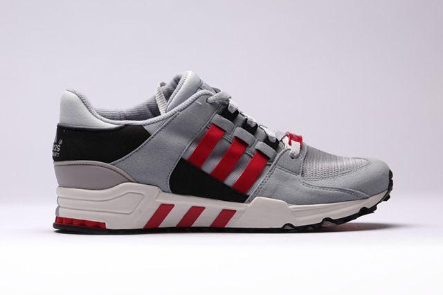 Adidas Equipment Running S Core Black Chalkwhite Scarlet
