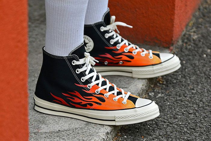 Converse Chuck 70 Flames Release Date 1 On Foot