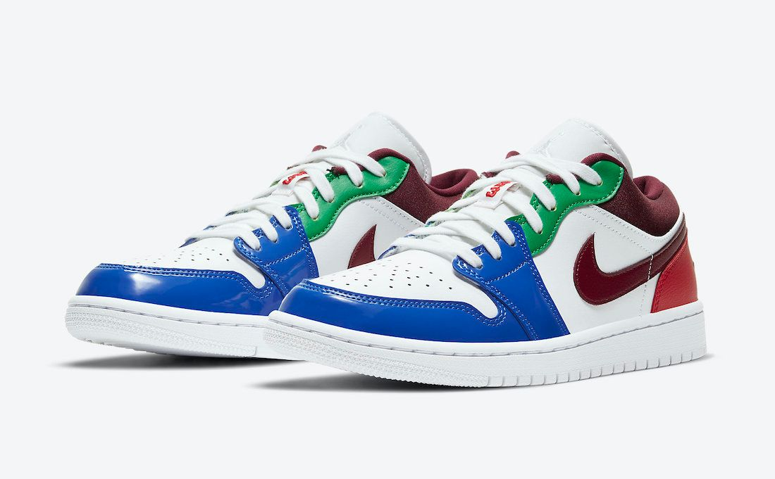 Air-Jordan-1-Low-multi colour