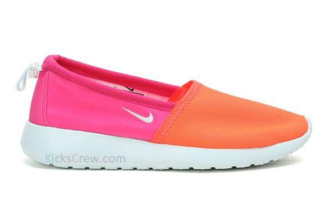 Nike Roshe Run Slip Total Crimson 1