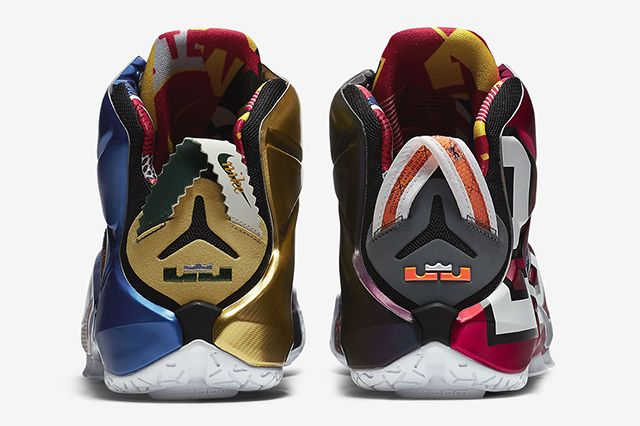 Nike Lebron 12 What The9