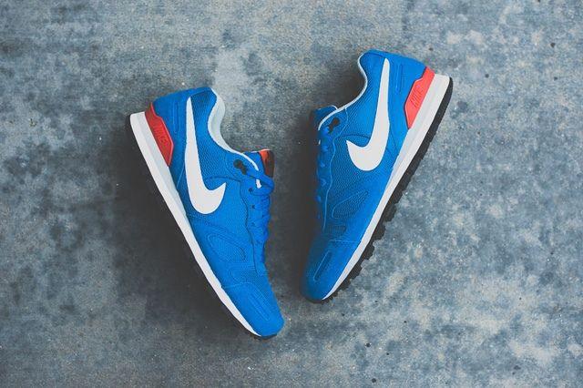 Nike Air Waffle Trainer Military Blue 2