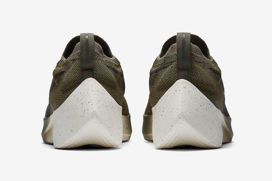 Nike Vapor Street Flyknit Olive Aq1763 201 Heel