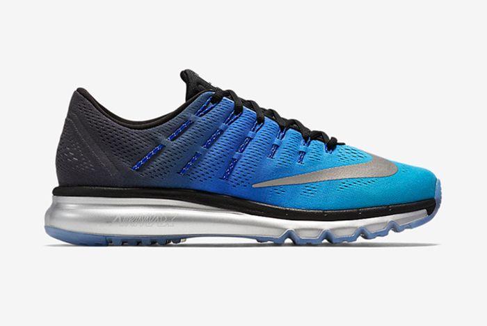 Nike Air Max 2016 Blue Black Silver 2
