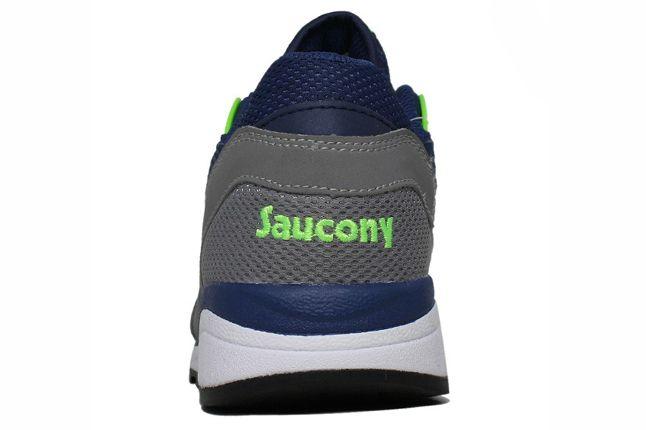 Saucony Master Control Blue Heel 1