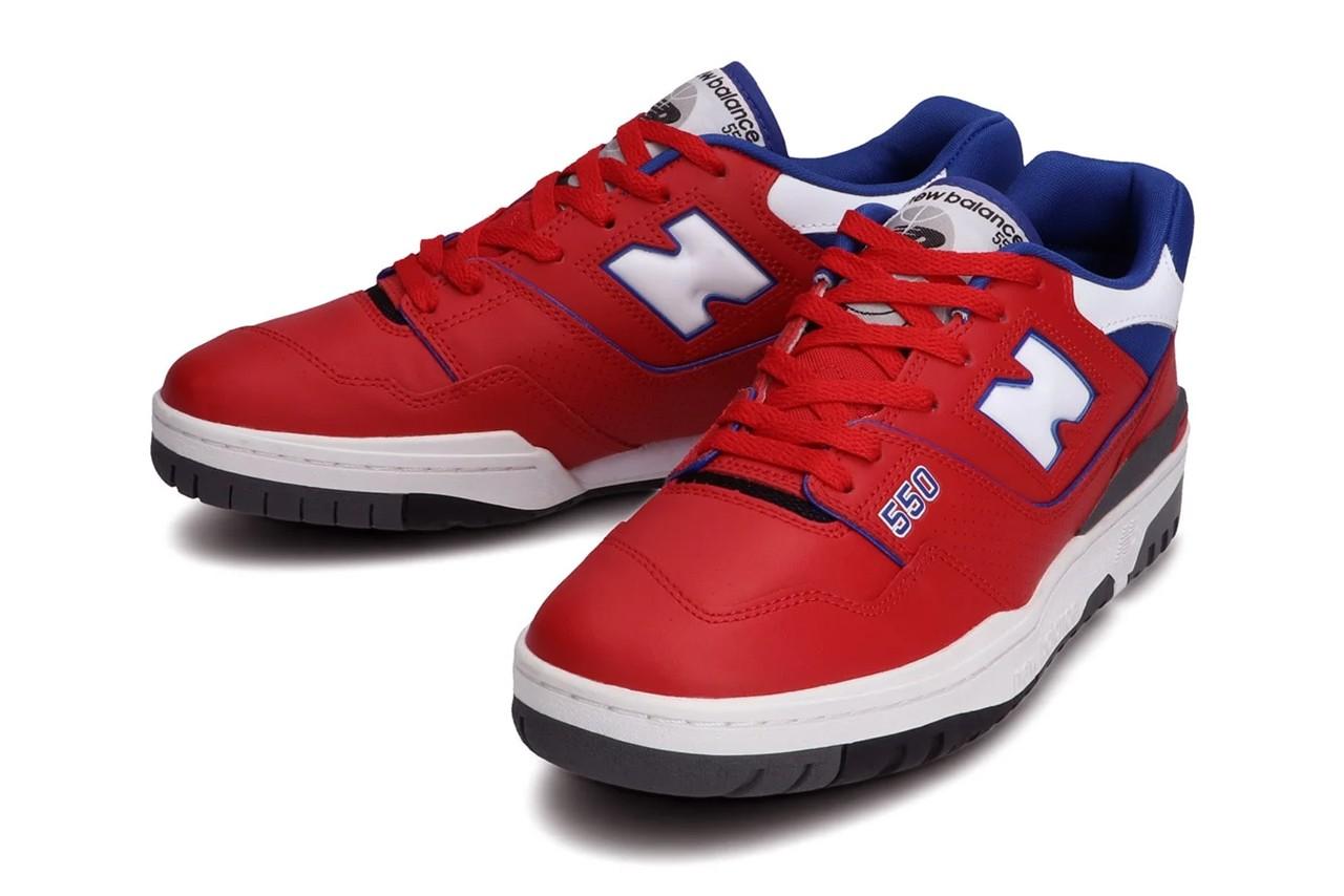 New Balance BB550 Red