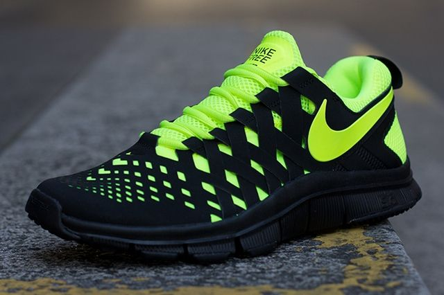 Nike Free Trainer 5 Volt Black