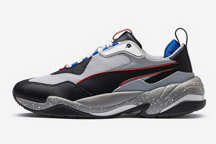 Puma Thunder Electric Black Grey Blue Orange 367996 02 1