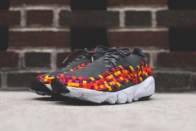 Nike Footscape Woven Motion Dark Base Grey 5