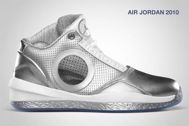 Air Jordan 2010 Silver 1