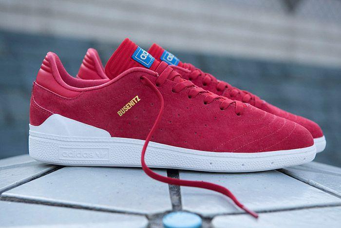 Adidas Busenitz Rx Red 3