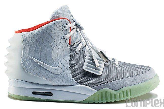 Nike Air Yeezy 2 Pure Platinum
