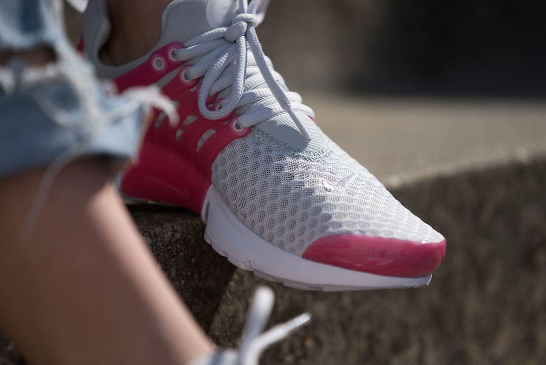 Nike Presto Breathe Gs Pure Platinum