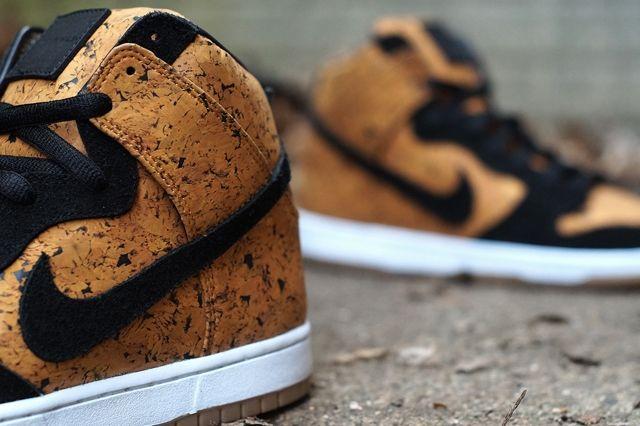 Nike Sb Dunk High Custom By Jbf Customs Cork 4