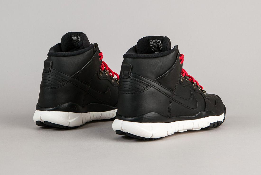 Nike Sb Dunk High Boots Black Sail 4