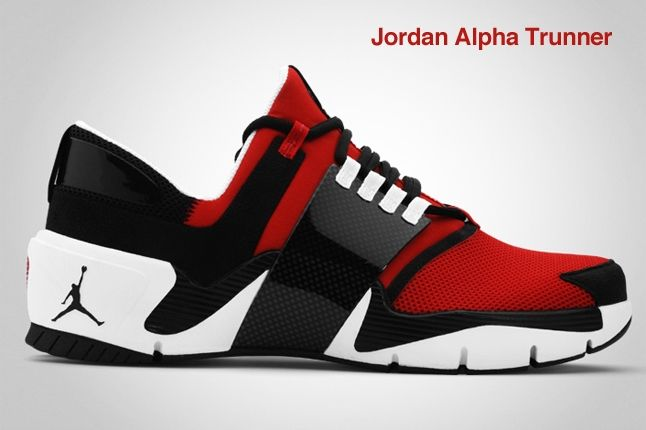 Jordan Alpha Trunner Red 1
