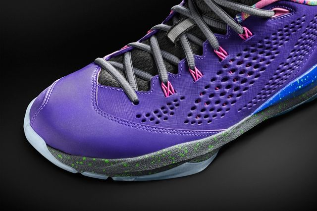 Air Jordan Cp3 Vii Purple Toebox