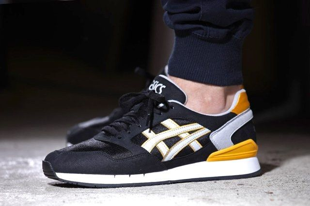 Asics Gel Atlantis Black Yellow 1