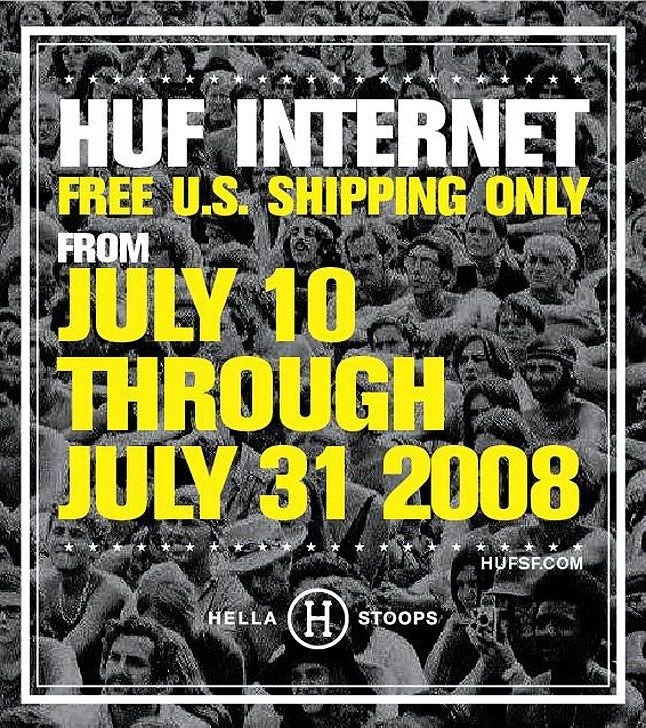 Huf Free Shipping Us Only 1