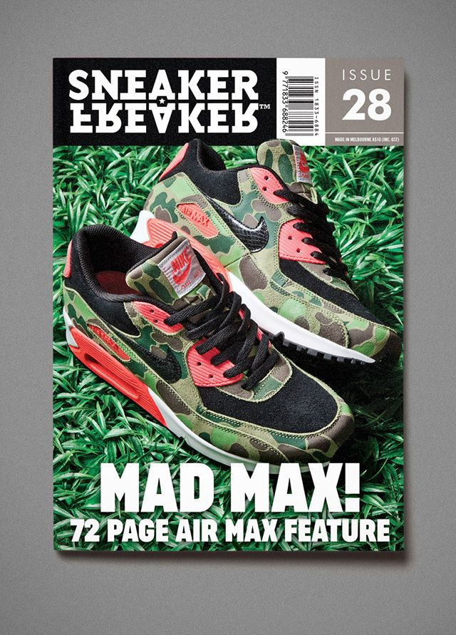 Sneaker Freaker Issue 28 Air Max Atmos Cover