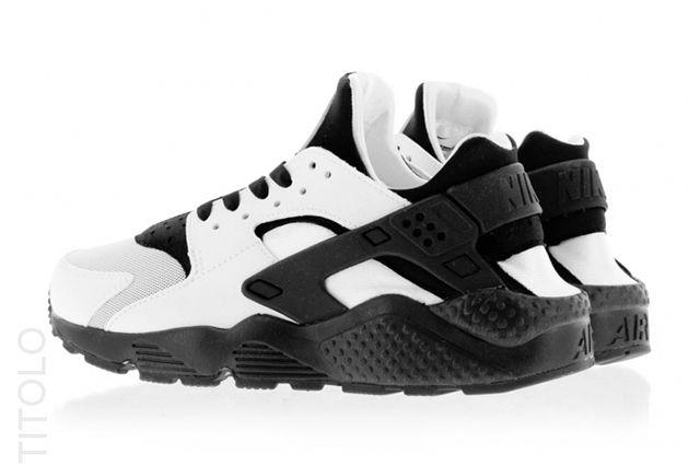 Nike Huarache Run Blackwhite 3