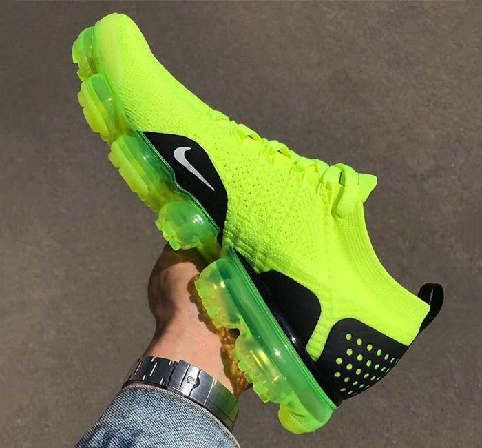 Nike Air Vapormax 2 Flyknit Volt 942842 700 7