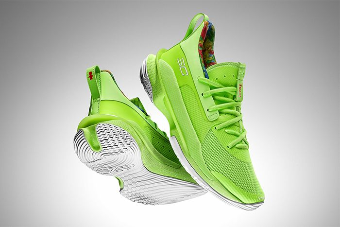 Sour Patch Kids Under Armour Curry 7 Lime Release Date Hero