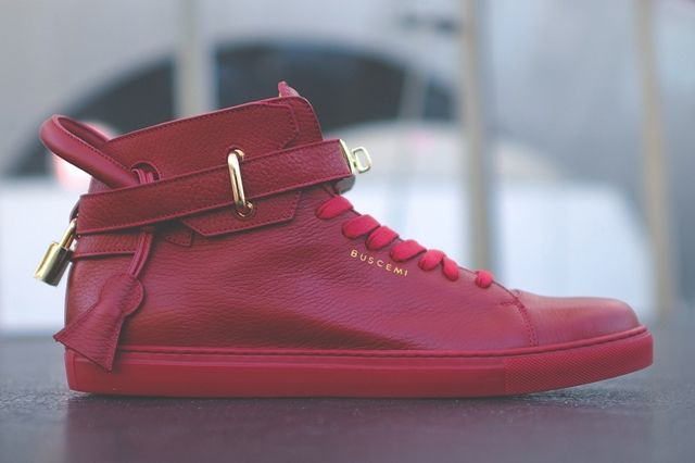 Buscemi 100 Mm White Red 1