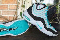Nike Air Bakin Grey Teal 11
