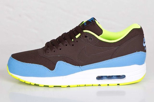 Nike Air Max 1 Baroque Brown Uni Blue 3