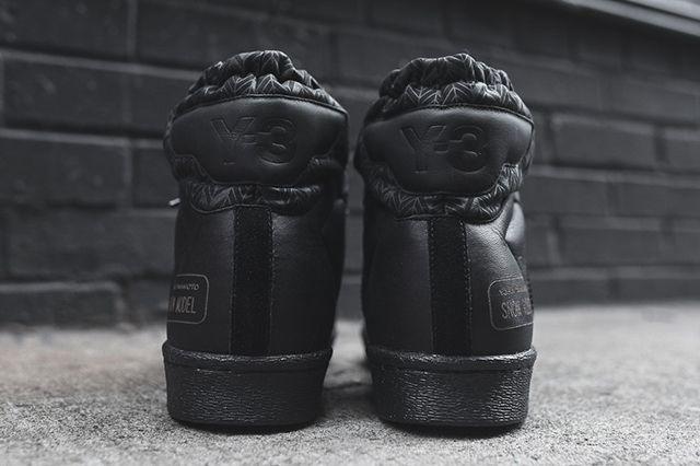 Adidas Y 3 Snow Model Mid Triple Black8