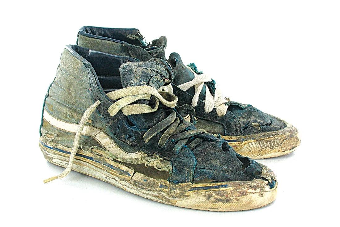 Shredded Vans Shoes