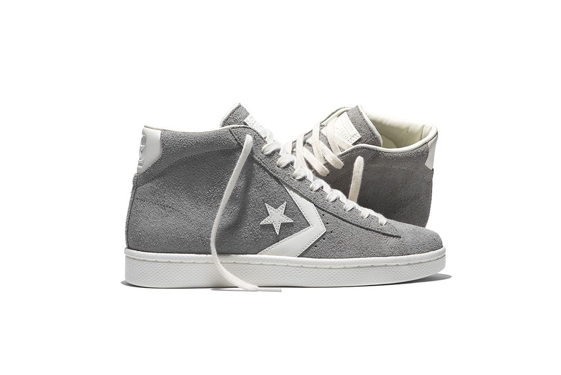 Converse Pro Leather 76 Vintage Suede Pack 5