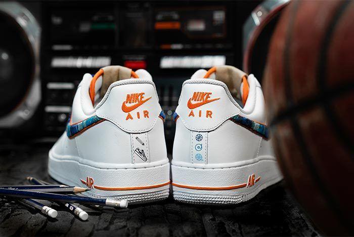 Afew Store X Bobbito Garcia Nike Air Force 1 Rock Rubber 45S 11