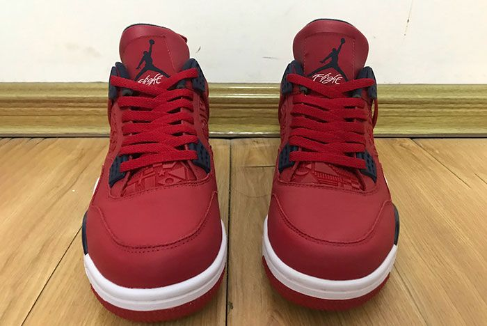 Air Jordan 4 Fiba Gym Red Ci1184 617 2019 Release Date 1 Front