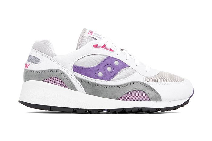 Saucony Shadow 6000 Grey Purple S70441 Releae Date Lateral