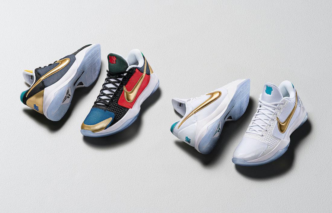 Nike Kobe 5 Mamba Week UNDFTD What If