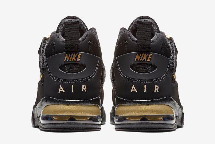 Nike Air Force Max Cb Black Metallic Gold 5